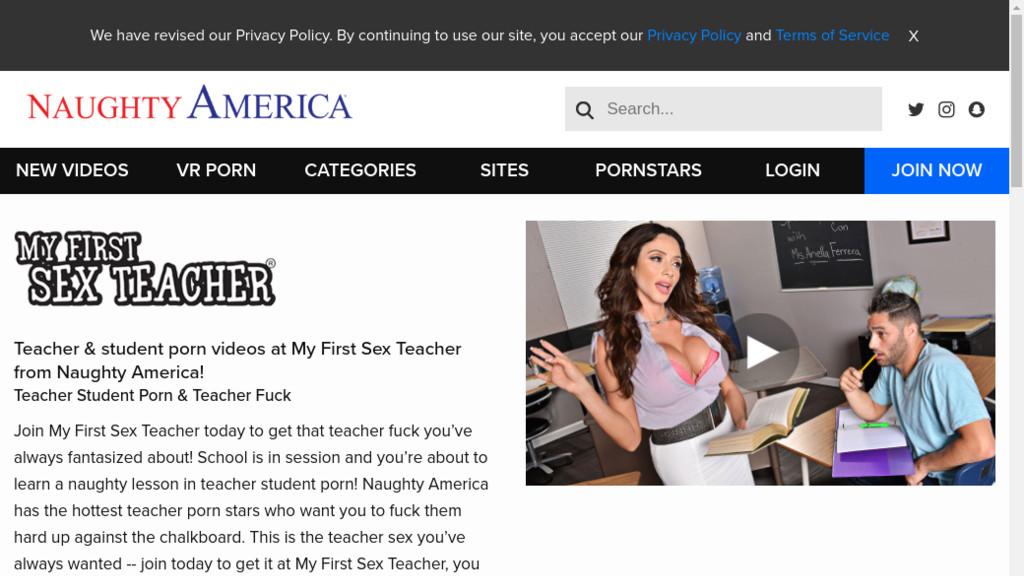 My first sex teacher passwords